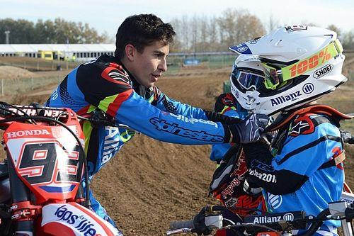 Márquez redevient instructeur pour jeunes pilotes de motocross