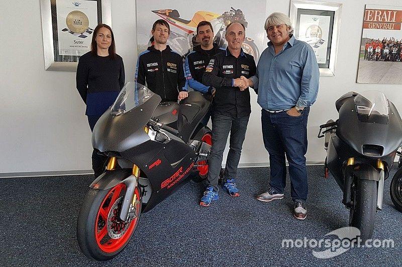 Suter déjà de retour en Moto2, en partenariat avec Forward