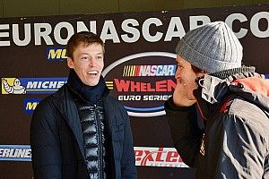 Daniil Kvyat ha provato la NASCAR Whelen a Franciacorta