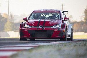 E-TCR: una Volkswagen Golf TCR elettrica ha già girato per i test Pikes Peak!