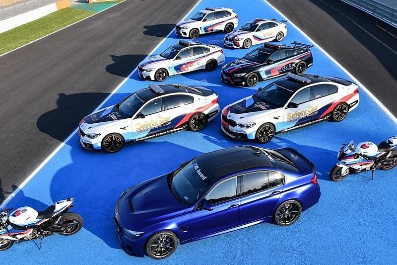 BMW представив автомобілі для MotoGP