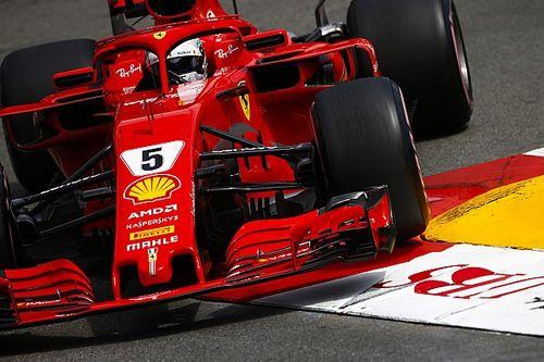 """Vettel: """"La Ferrari scivola troppo, ma sono comunque contento"""""""