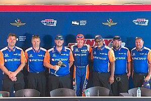 Dixon y su equipo ganan la prueba de pits en Indy 500