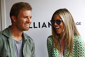 Nico Rosberg felesége elvitte a show-t: a jelenet, ami mindent vitt (videó)
