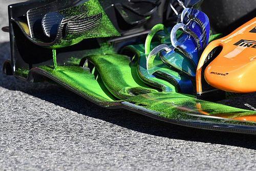 GALERI: Foto teknis terbaru tes pramusim F1 2018