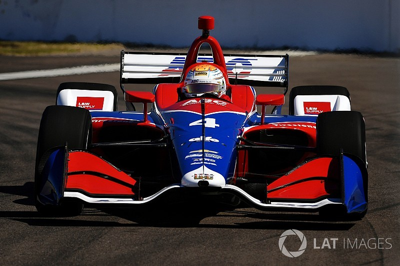 Foyt trying to temper expectations despite promising start