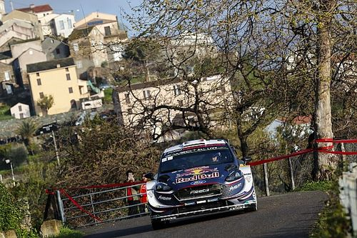 Corsica WRC: Ogier takes early lead, Loeb crashes