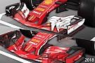 Формула 1 Відео: порівняння болідів Ferrari 2017 та 2018 років