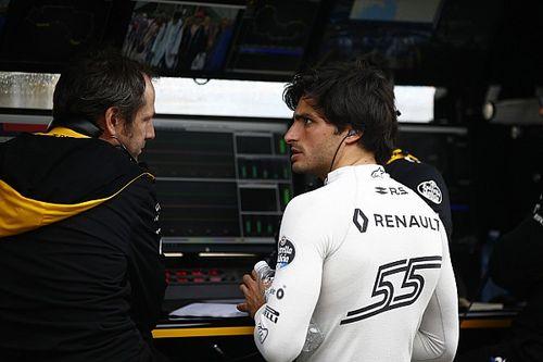 Apesar de estar entre os dez primeiros, Sainz não fica feliz