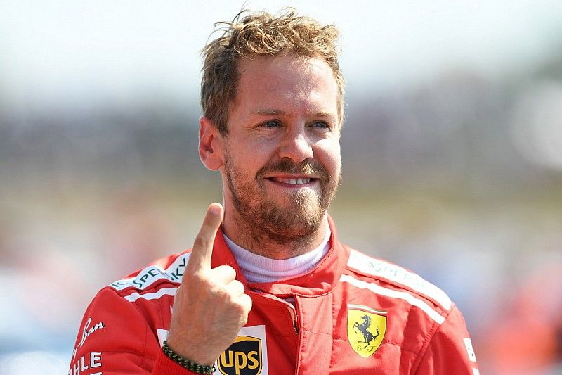 """Chefe destaca atuação de Vettel na Inglaterra: """"foi um leão"""""""