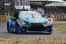 Hillclimb Pruett escapes Lexus fire at Goodwood