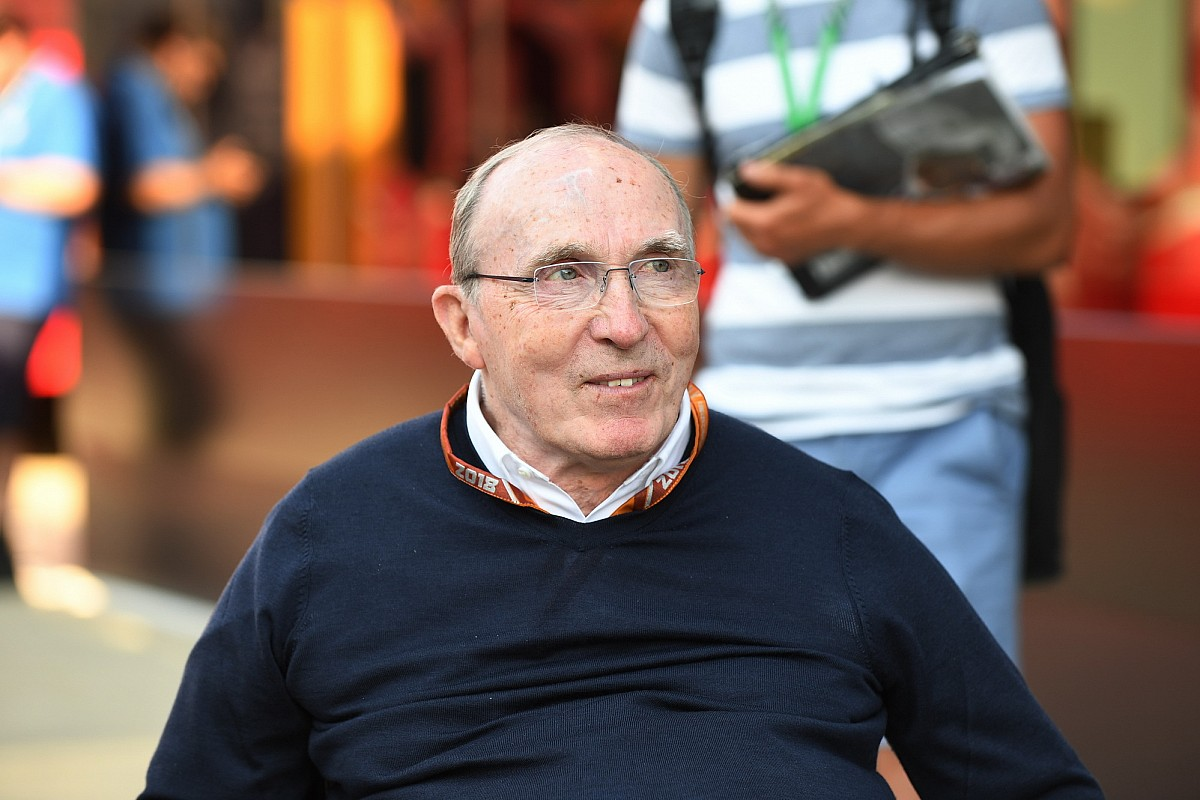 Frank Williams ha sido hospitalizado en condición estable