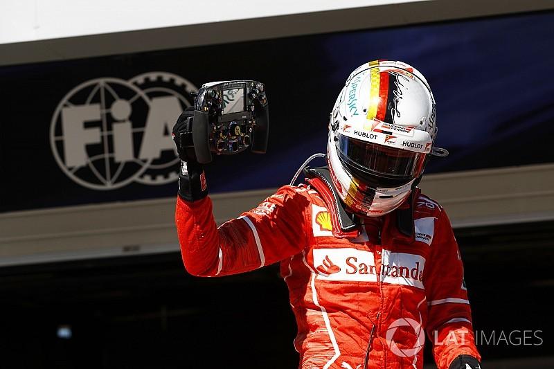 """Vettel: """"Questa vittoria è importante per me e per la Ferrari!"""""""