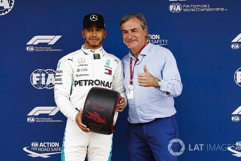 Hamilton, Schumacher'in bir başka rekorunu kırdığı için onurlu