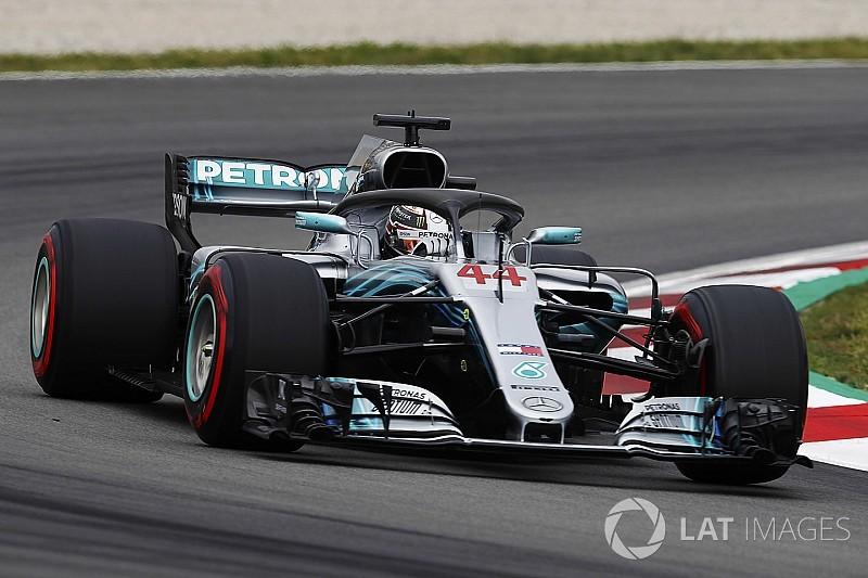 西班牙大奖赛FP3:汉密尔顿继续居首,哈特利严重撞毁赛车