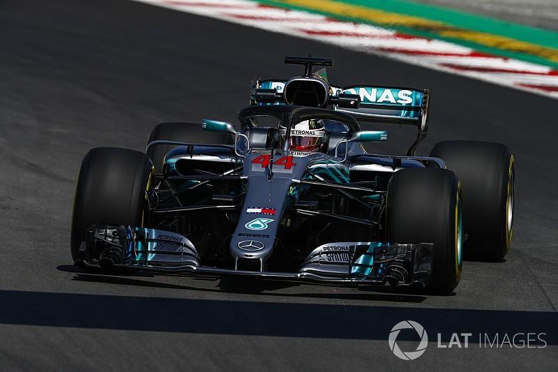 Spanish GP: Hamilton pips Red Bull duo in FP2