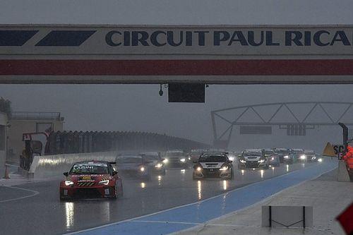 Andrea Larini vince Gara 2 dietro alla Safety Car nel diluvio francese