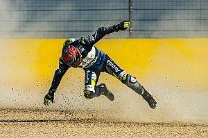 Galería: Jordi Torres sufre su primera caída en MotoGP