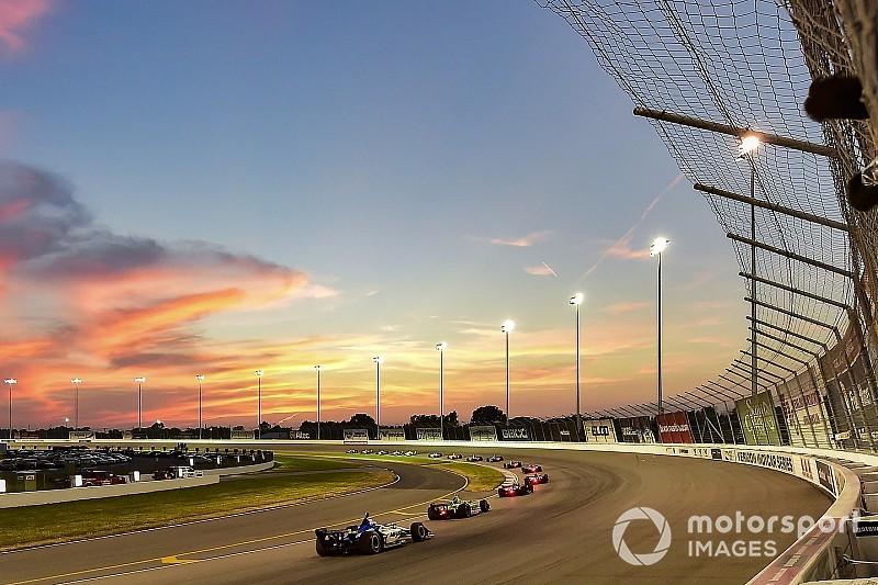IndyCar's Bommarito Automotive Group 500 weekend schedule