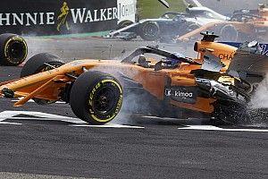 McLaren: cambiata la scocca ad Alonso ancora dolorante dopo il crash di Spa