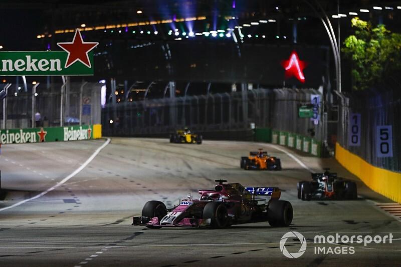 Une troisième zone DRS ajoutée au circuit de Singapour