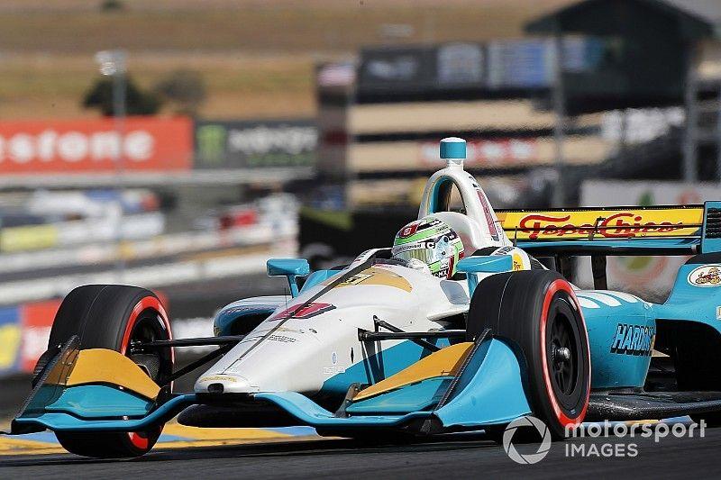 Patricio O'Ward logra el quinto lugar en calificación de IndyCar