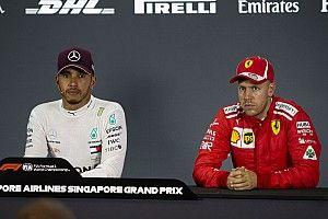 """Hamilton: """"A mídia precisa mostrar mais respeito por Vettel"""""""