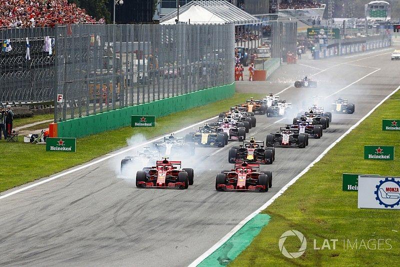 Formel 1 Monza 2018: Das Rennergebnis in Bildern