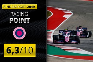 Eindrapport Racing Point: Naweeën van turbulente periode