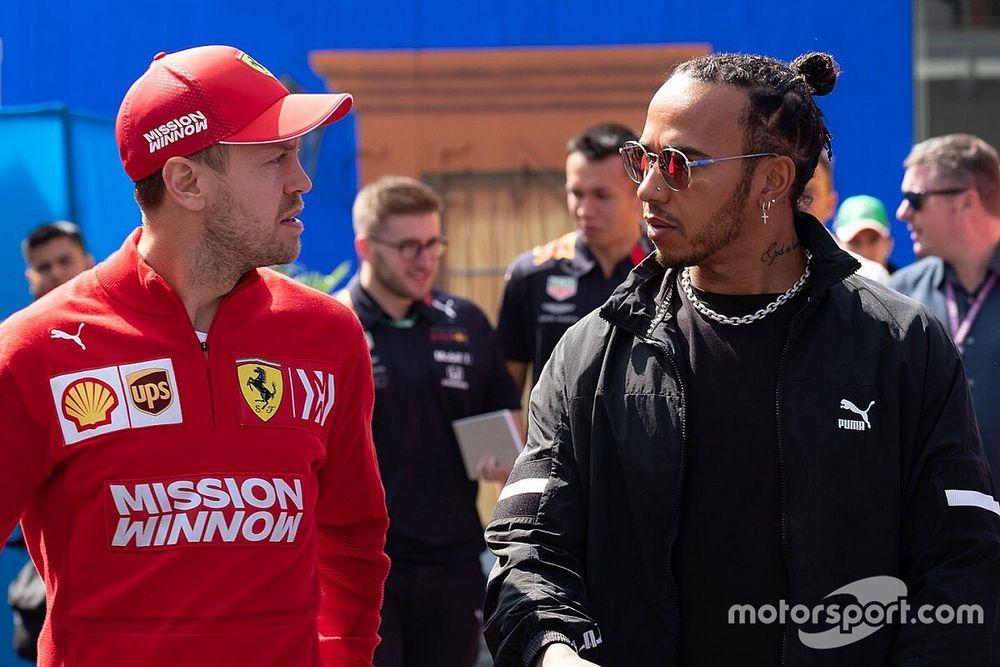 "F1: Hamilton espera que Vettel tenha ""algo positivo"" em 2021"