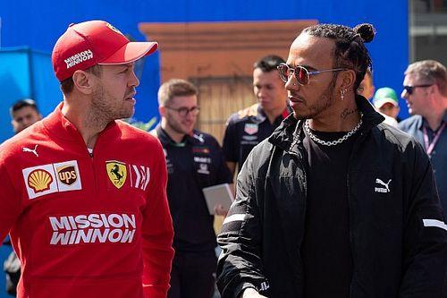 VIDEO: la felicitación de Vettel a Hamilton por el sexto título