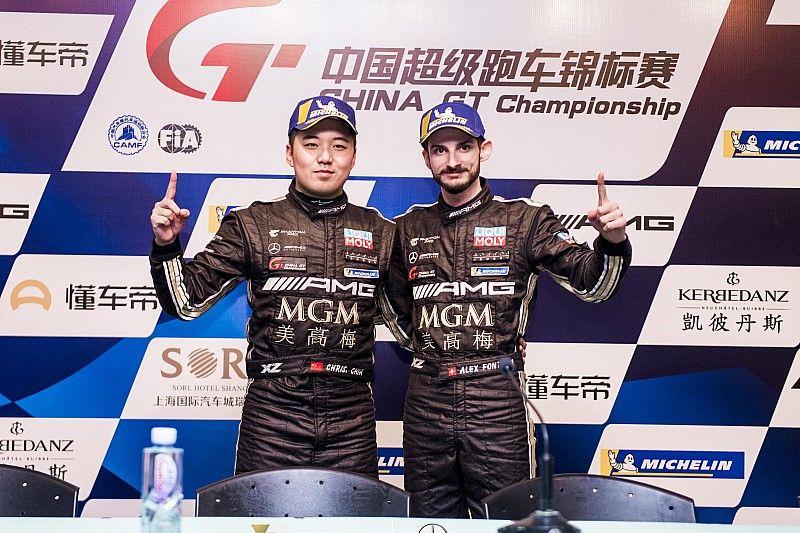 Alex Fontana vainqueur et champion en Chine !