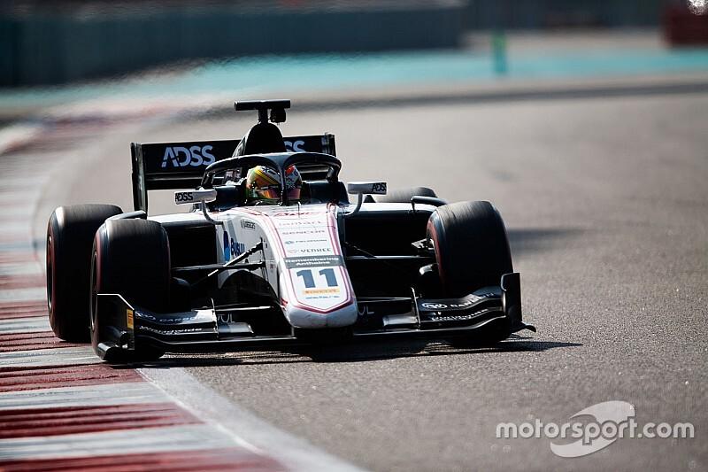 Deletraz lidera el primer día del test de F2 en Abu Dhabi