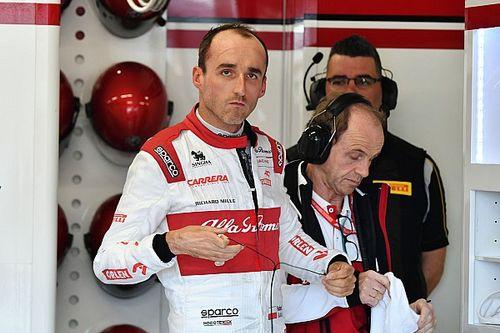 Kubica nog tweemaal in actie voor Alfa Romeo Racing