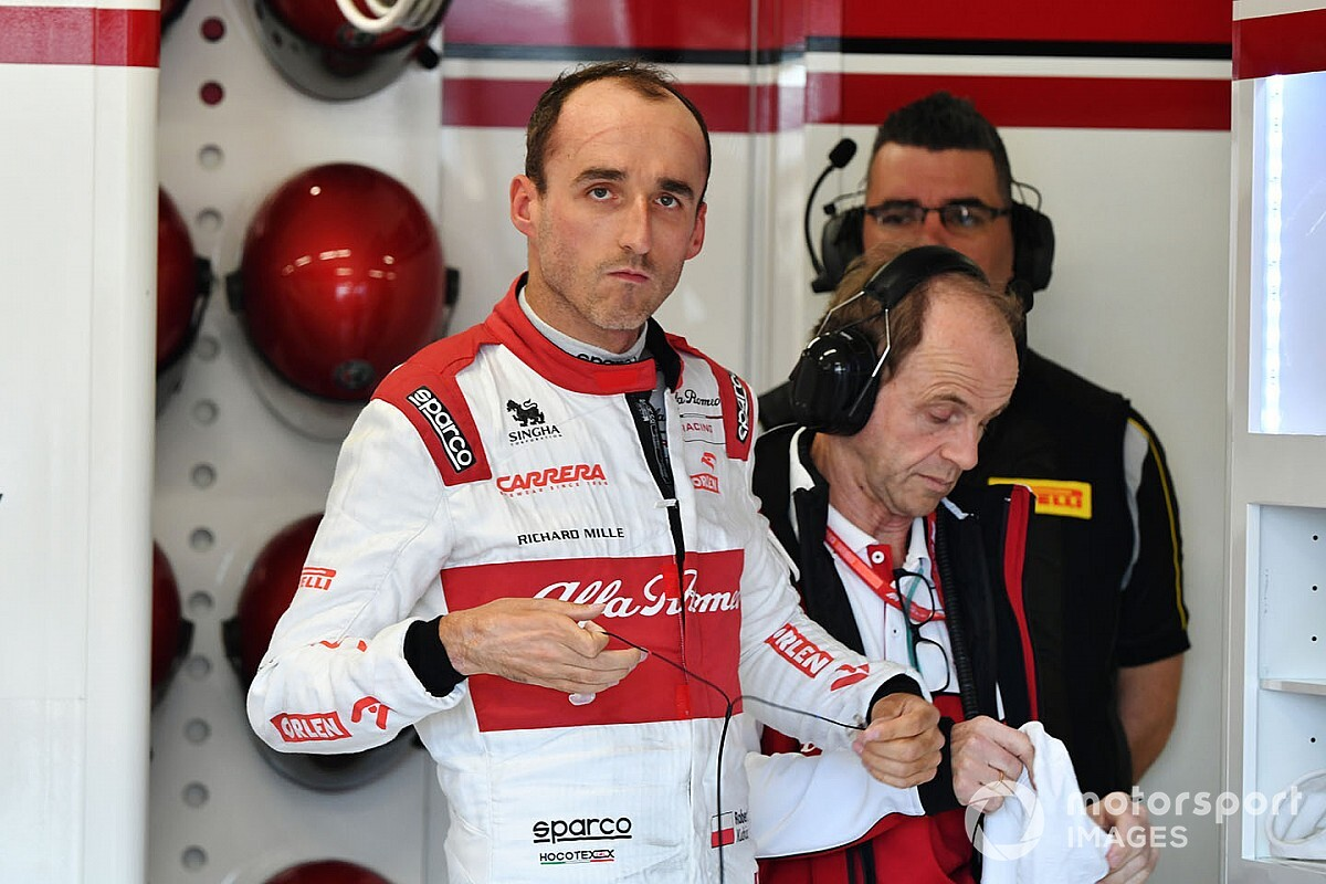 Kubica a virtuális pályán sem agresszívebb, mint a valóságban