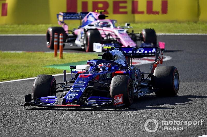 ガスリー、サスペンションにトラブルも8位入賞「日本でのポイントは特別!」