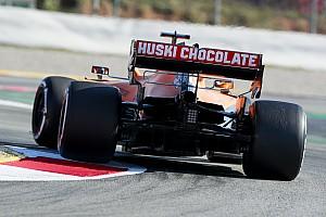 McLaren привез на вторую серию тестов новое днище