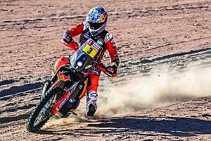 Dakar, Moto, Tappa 4: Sunderland beffa le Honda