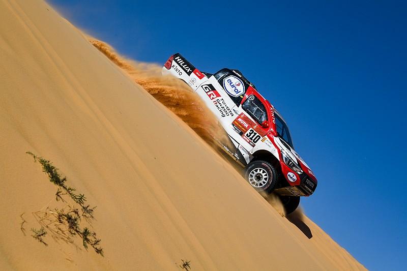 """Dakar, Alonso: """"Deluso per la foratura ma contento per i progressi"""""""