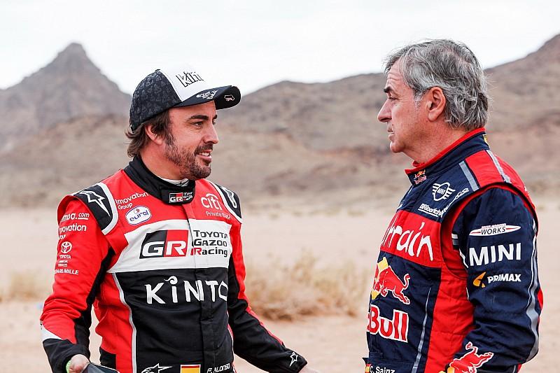 Sainzot nem lepte meg Alonso Dakar-remeklése