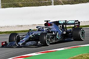 Bottas lidera sobre Pérez la primera mañana de pruebas