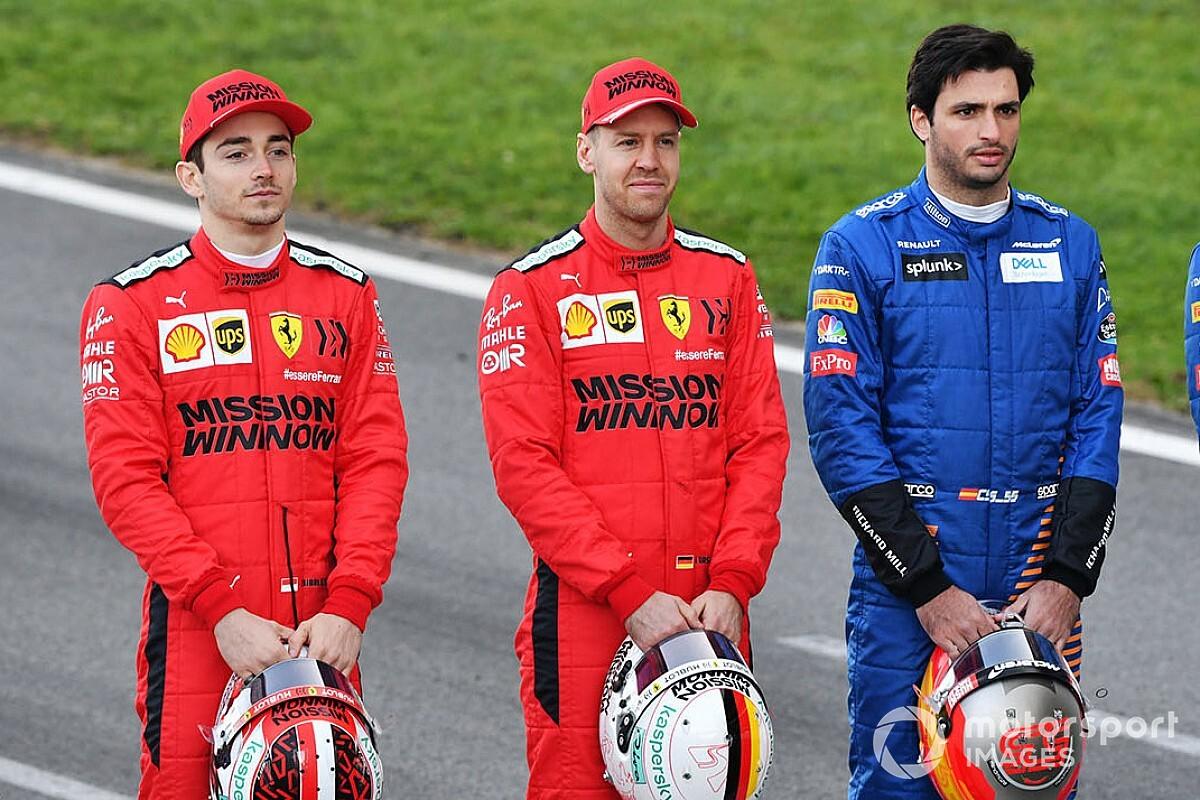 Ferrari richt pijlen op Sainz als opvolger van Vettel