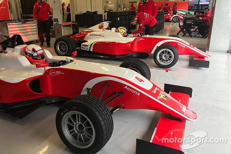 Montoya Jr se estrena en monoplazas en Europa
