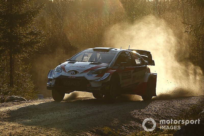 Sweden WRC: Evans takes early lead as Rovanpera shines