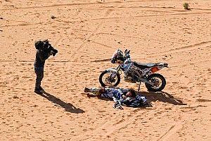 El número de abandonos en el Dakar se reduce en Arabia Saudita
