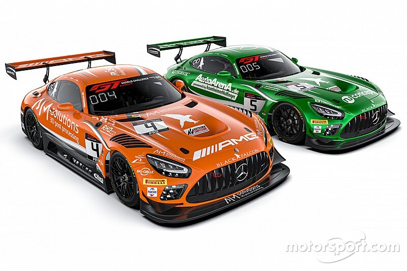 GT World: doppio impegno per la Black Falcon con le Mercedes