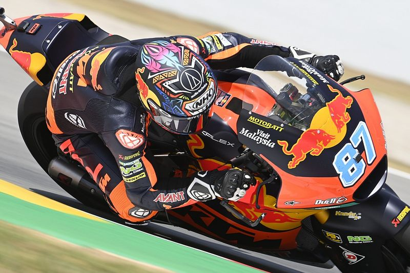 Moto2 - Barcelona: Gardner se lleva un nuevo duelo con Raúl Fernández