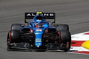 "Alpine ""in a position to fight"" after improved practice at Portimao"