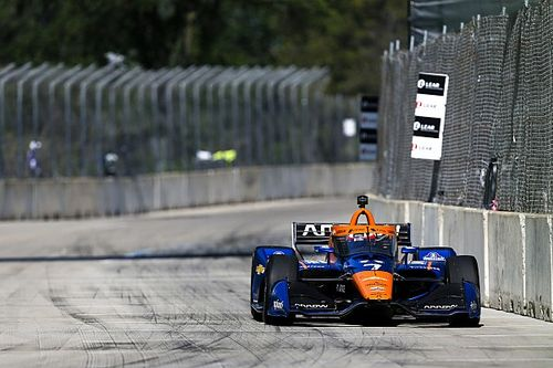 Detroit IndyCar: Rosenqvist crash stops opening race
