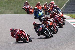 Положение в общем зачете MotoGP после Гран При Италии